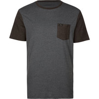 Rvca Change Up Mens Pocket Tee Navy  In Sizes