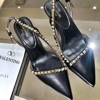 Valentino sells sexy women's studded stiletto sandals