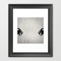 the day you left me Framed Art Print by Steffi Louis Finds&art