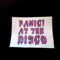 Panic at the Disco Spooky Patch