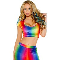 Rainbow Dream Queen Velvet Set