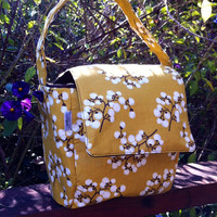 Insulated Lunch Bag Mustard Yellow