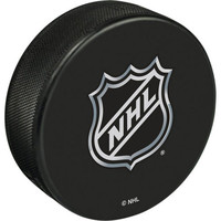 NHL Shield Basic Logo Souvenir Hockey Puck By Sher-Wood