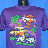80s NEW Everybody's Surfing Now Abstract t-shirt Large