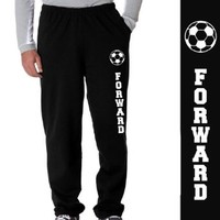 Soccer Fleece Sweatpants - Soccer Forward
