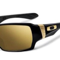 OAKLEY 24KT OFF SHOOT SUNGLASSES WITH IRIDIUM LENSES NEW