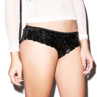 Forplay Disco Night Sequin Booty Short