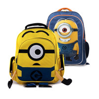 Minion backpack bag Rugzak school bags Kids Schooltassen Cartoon Rugzak children's backpack / girl / boys sac a dos enfant