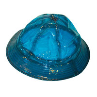 Neon Blue Bucket Hat