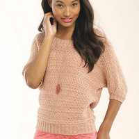 Marled Pullover Sweater