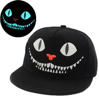 New Glow In The Dark Snapback Caps Adjustable Hip Hop Fluorescent Baseball Cap Casual Luminous Caps Fitted Hats for Women Men