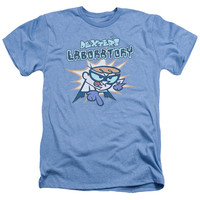 DEXTER'S LABORATORY/WHAT DO YOU WANT - ADULT HEATHER - LIGHT BLUE -