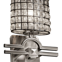 Justice Argyle ADA Wall Sconce - Silver