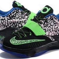 Nike Mens Kevin Durant KD 7 SE EP Black/Green/Blue US7-12