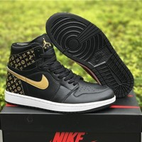 Air Jordan 1 X Louis Vuitton Basketball Shoes Us7 13