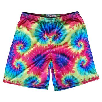 Tie Dye Sublimated Lacrosse Shorts