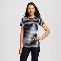 Women's Striped Ultimate Crew Tee - Merona™