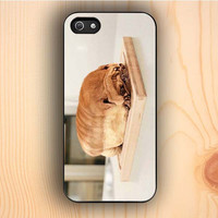 Dream colorful Pug Loaf Of Bread Cute Funny iPhone 5s Case
