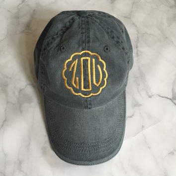 """ZOU"" Embroidered Hat"