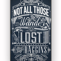 Not All Who Wander Are Lost for iPhone 4/4S Case **
