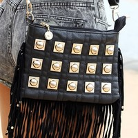 Studded Tassel Bag | SABO SKIRT