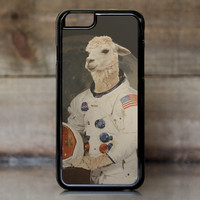 Funny Astronaut Llama in Space Suit Case for Apple iPhone 6