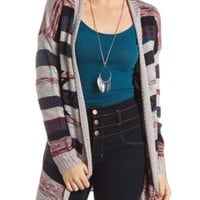 Open Aztec Cardigan Sweater by Charlotte Russe