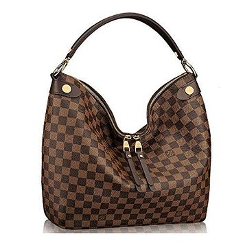 Authentic Louis Vuitton Damier Duomo Hobo Shoulder Handbag Article:N41861 Made in France