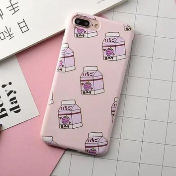Milk Carton Phone Case