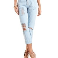 """Refuge """"Boyfriend"""" Colored Cropped Jeans"""