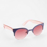 Urban Outfitters - Pink Element Cat-Eye Sunglasses