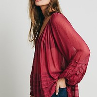 Free People FP ONE Tie That Binds Blouse