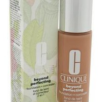 Clinique Beyond Perfecting Foundation Plus Concealer - 14 Vanilla Mf-G By Clinique For Women - 1 Oz Makeup