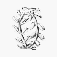 Women's PANDORA 'Laurel Wreath' Band Ring - Silver Carded