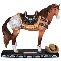 Westland Giftware Horse of a Different Color Resin Figurine, 6.5-Inch, Western Mustang