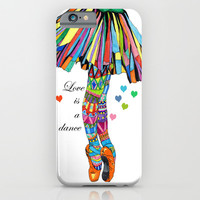 LOVE IS A DANCE iPhone & iPod Case by Heaven7