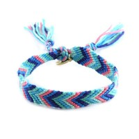 Classic Friendship Bracelet in Ocean Blue