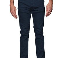 Men's Skinny Fit Colored Jeans (Teal)
