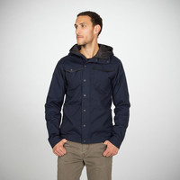 Bengal Waxed Canvas Jacket - Men's Oxford Blue