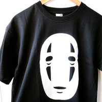 NO FACE T-shirt / Spirited Away / Studio Ghibli / Anime