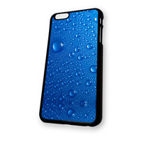 Blue Drops Glass iPhone 6 case