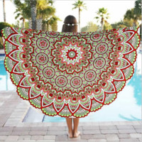 Print Beach Towel Tapestry Shawl B0014418