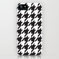 Houndstooth Pattern iPhone Case by Rex Lambo   Society6