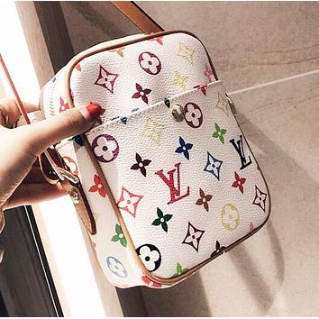 Louis Vuitton LV Popular Women Men Leather Mini Crossbody Satchel Shoulder Bag