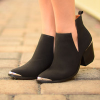 Step by Step Booties - Black