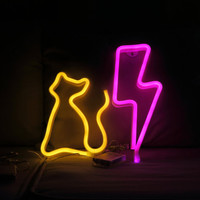Online Shop Cat Lightning Neon Light Sign Children Room Decoration Lighted Party Supplies Wall Decoration Sign Dream Lamp Home Decor | Aliexpress Mobile