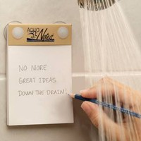 Note Your Inspiration with Aqua Notes When Showering |Gadgetsin