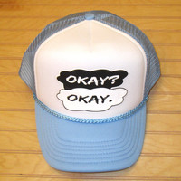 Snap Back Hat Okay? Okay The Fault In Our Stars