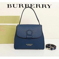 BURBERRY WOMEN'S LEATHER HANDBAG INCLINED SHOULDER BAG