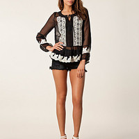 Floral Emroidery Top, Anna Sui